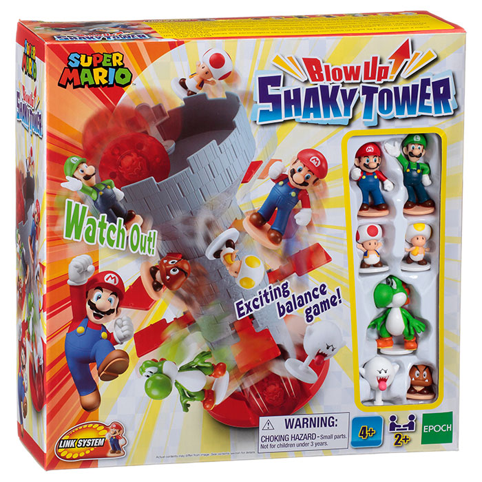 SHAKY TOWER package