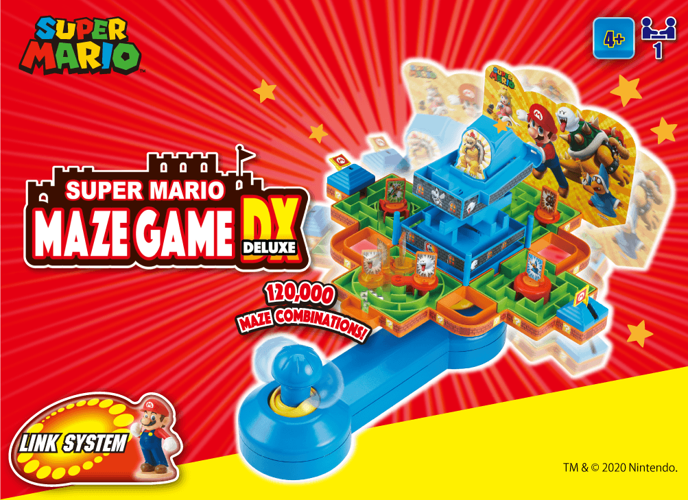 SUPER MARIO Maze Game DX